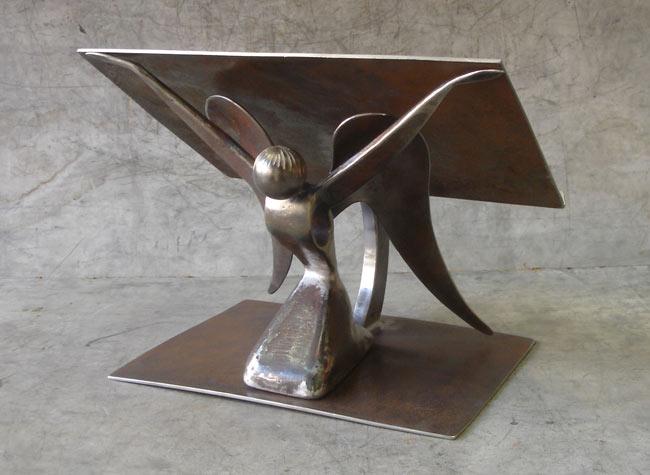 Sculpture de Jean Pierre Augier avant