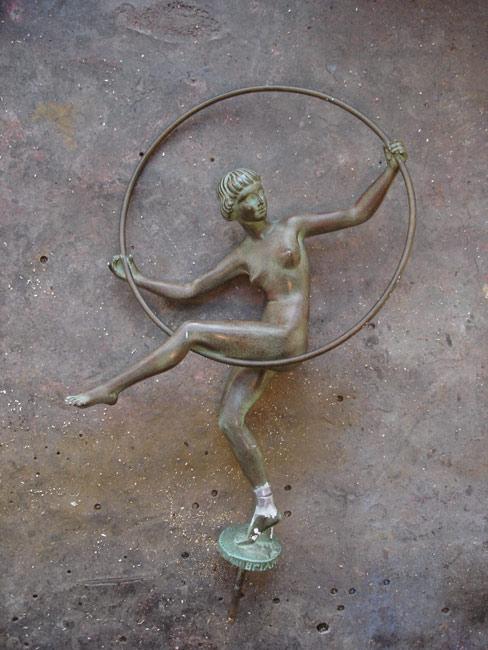 La danseuse au cerceau de Briand
