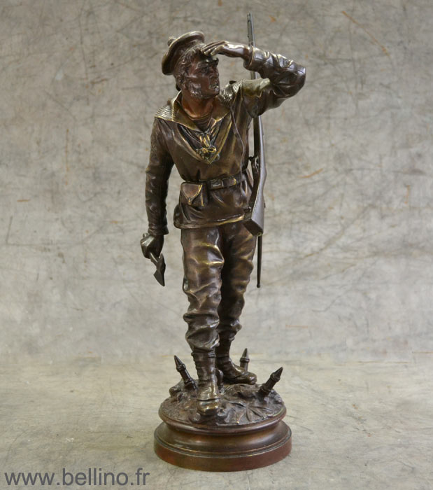 Fusilier marine de Charles Anfrie