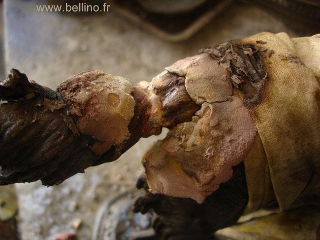 La sculpture de Delabrière après réparation