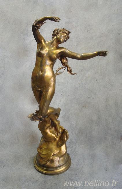 Le bronze doré de Felix Charpentier