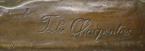 Signature de Felix Charpentier