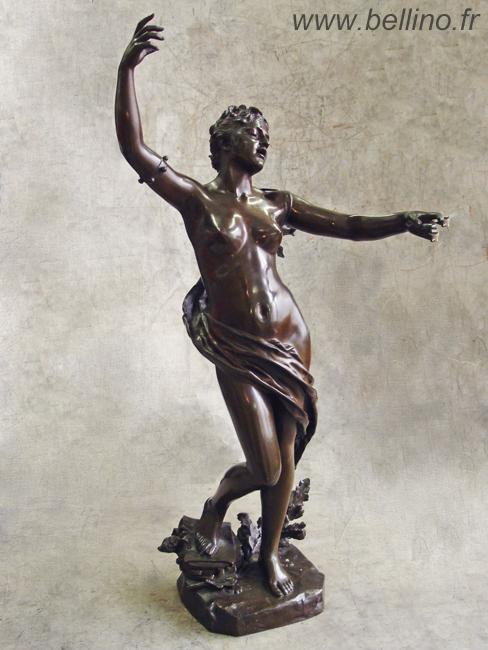 Le bronze de Felix Charpentier après patine