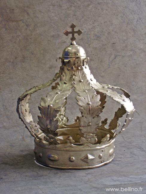 La couronne après réparation