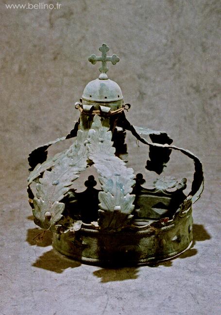 couronne avant réparation