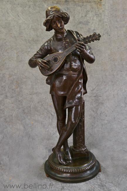 Le chanteur Florentin après restauration