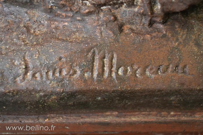 La signature de Louis Moreau
