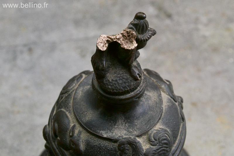 Aspect de la cassure du bronze
