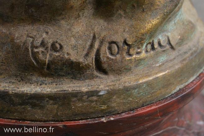 La signature d'Hippolyte Moreau