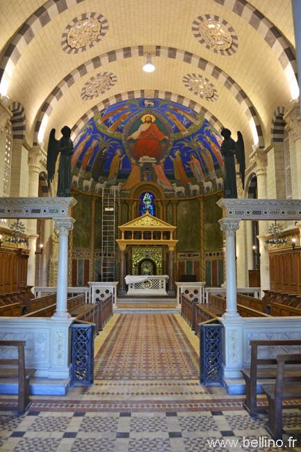 Intérieur de la chapelle du séminaire de Nice