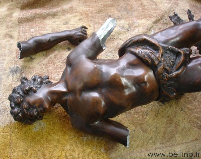 R gule dorure patine et restauration bronze et orf vrerie - Comment patiner du zinc ...