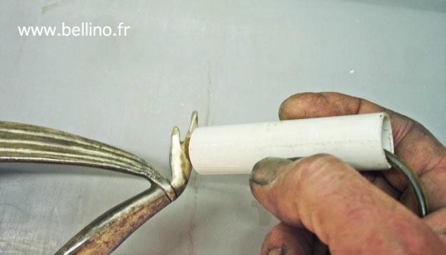 Rattrapage de l'argenture par électrolyse sélective