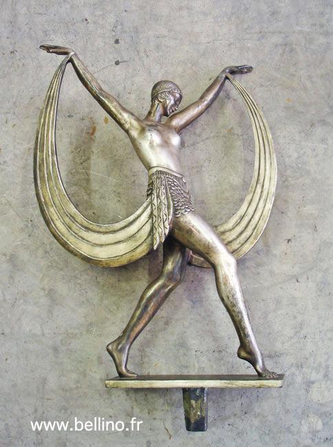 La sculpture de Fayral terminée