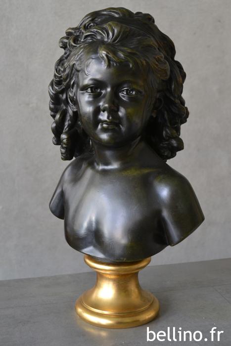 Le buste de Sabine par Houdon après restauration