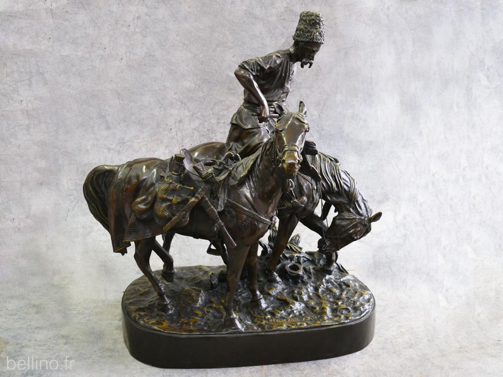 Le bronze après restauration