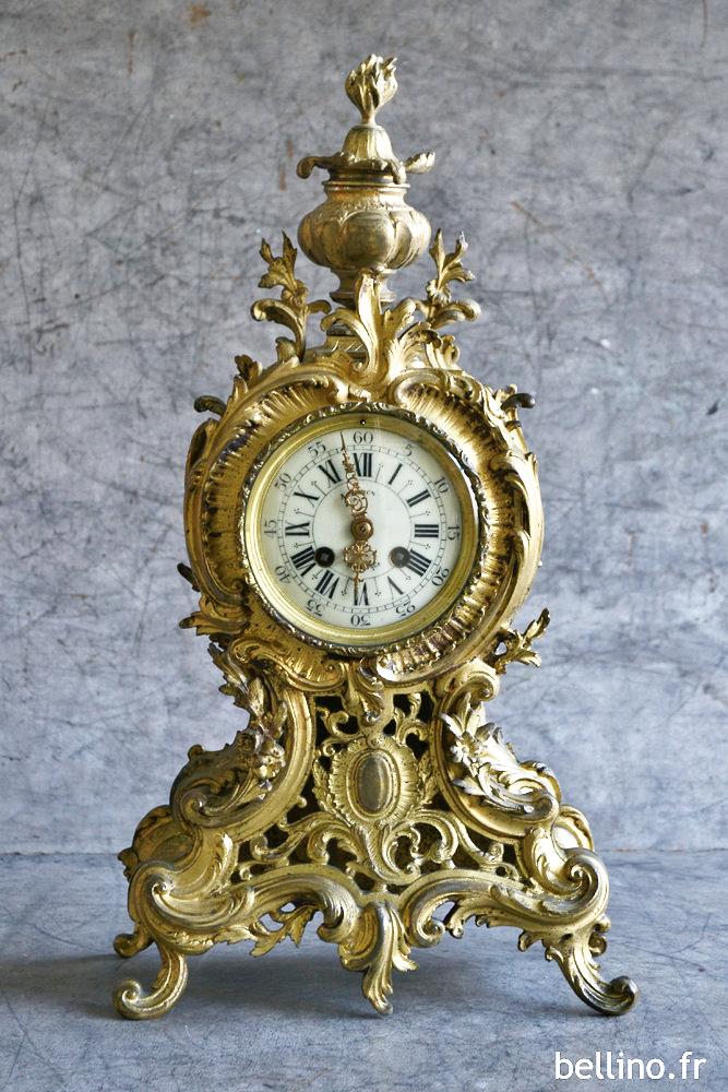 Pendule Napoléon III de style Louis XV